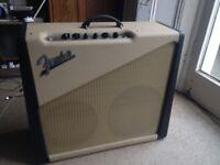 rare Fender custom Two Tone guitar amp 2001