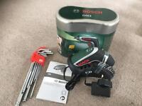 Brand new unused Bosch mini drill and Allen key set