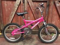 Girls 18 inch bike. Can deliver