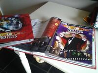 Doctor Who Series 1,2,3 and 4 all episodes 28 Dvds only 3 ever opened plus Magazines and story DVDs