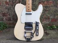 Fender Telecaster 1970 vintage 70 with bigsby tele