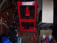 sealey hydraulic bench press