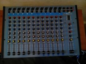 studio research 12 channel mixer