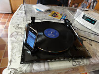 ION PROFILE LP Turntable top of the range built-in ipod dock for direct loading