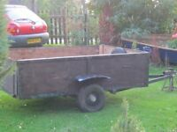 CAR TRAILER - (Downham Market)