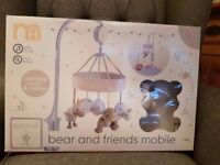 Cot Mobile - Mothercare, bear and friends - Brand New