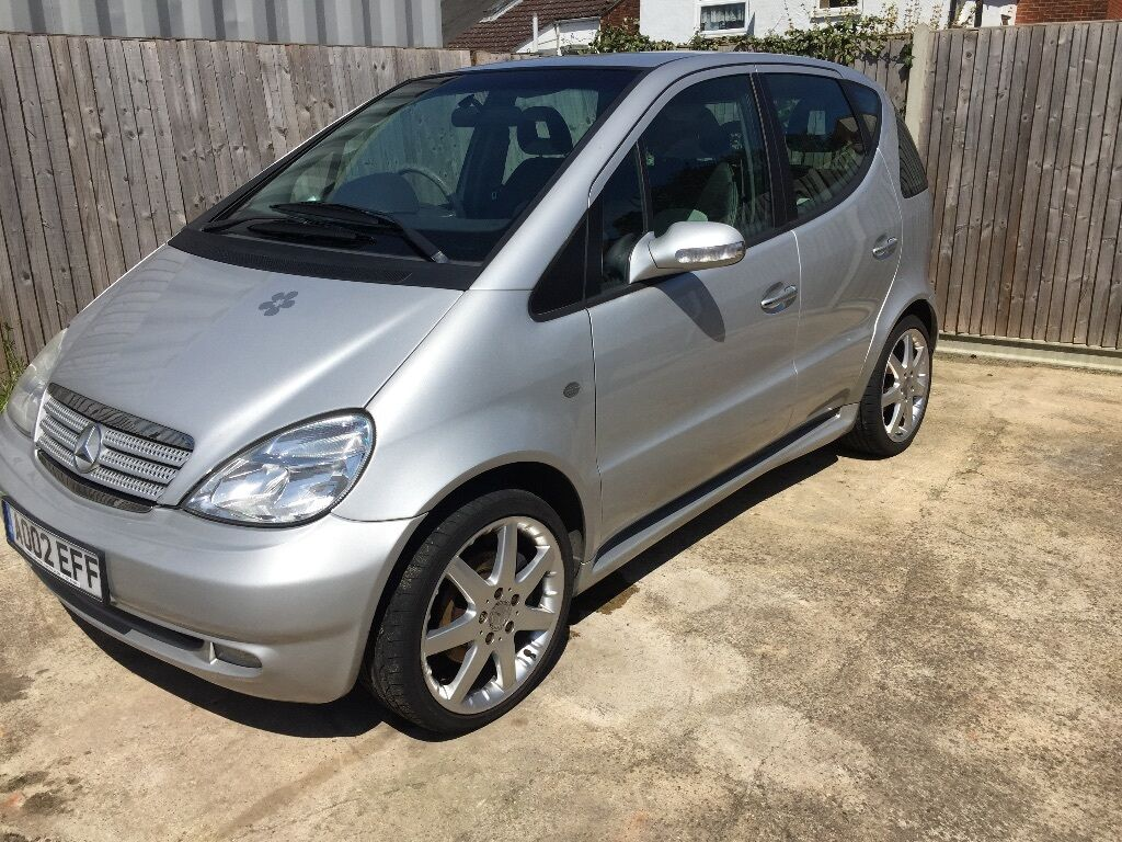 2002 mercedes a210 evolution amg silver car a class 4 door in colchester essex gumtree. Black Bedroom Furniture Sets. Home Design Ideas