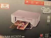 Canon pixma MG3650 wifi printer