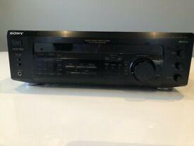 Sony FM-AM Receiver STR-DE235 Power output: 100 watts per channel into 8Ω