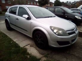 2005 Vauxhall astra, automatic