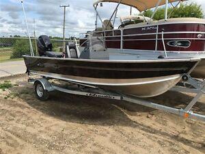 2016 lund boat co 1600 Fury