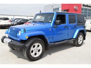 2015 Jeep WRANGLER UNLIMITED Sahara+Navigation+Bluetooth