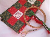 Hand Embroidery Christmas Theme Workshop