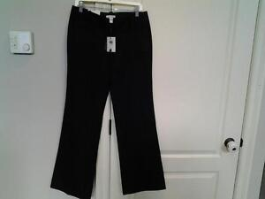 NEW WITH TAGS LINED CALVIN KLEIN DRESS PANTS -size 6 ,pd 89 $ London Ontario image 1