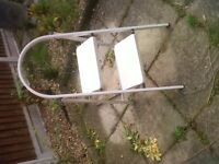 Excellent, heavy 2 step ladder - perfect condition