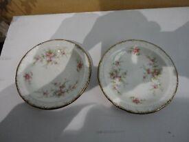 Paragon Small Plates - Victoriana Rose