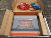 JBL GTO 2OOO 400w 2/1 channel power amplifier