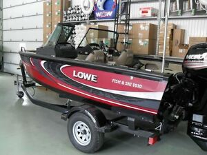 2016 lowe boats FS 1610 Merc 115HP Trailer Fish Finder Stereo B.