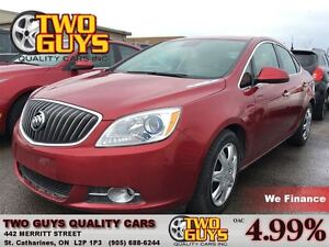 2012 Buick Verano CONVENIENCE LEATHER/CLOTH INTERIOR MOON ROOF