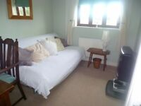 2 rooms with own bathroom to let in a quiet village,20 mins from bath
