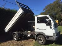 Nissan Cabstar with geniune Tipmaster Tipper