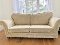 Sofology scroll arm 3-seater sofa