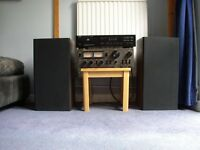 High end stereo, TEAC amp + phono input MM&MC, Denon CD, Celestion Ditton speakers