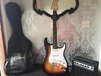Cruiser crafter electric guitar