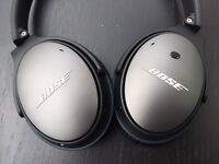 Bose QC25 Noise Cancelling Headphones for Apple Devices - Excellent Condition - With Box & Receipt
