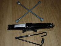 Unused Universal Scissor Jack & Wheel Brace for Car or Small Van