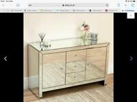 Large mirrored sideboard for sale