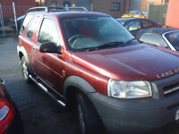 land rover freelander spares or repair v6 petrol auto 2001