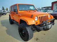 2012 Jeep WRANGLER UNLIMITED LIFTED SAHARA UNLIMITED / WINCH / N