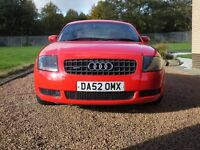 Audi TT Quattro 1.8, Low Milaeage