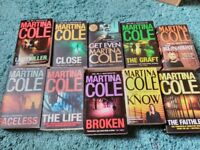 Martina Cole Books!! Excellent condition!!!