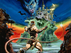 Castlevania  Wall Poster - Huge -15 in x 24 in - Fast shipping  - Beautiful 111
