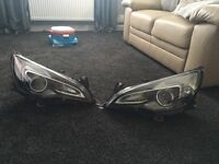 Vauxhall Astra VXR front lights