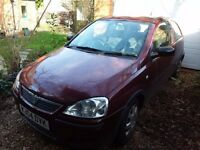 Vauxhall Corsa for Spares or repair. MOT April 2017, Good ecotech engine 3 years old.