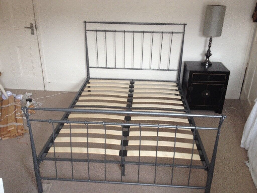Metal Bed Frame Very Good Condition As Only Used As Guest Bed