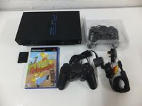 SONY PLAYSTATION 2 CONSOLE WITH SIMPSONS SKATEBOARDING