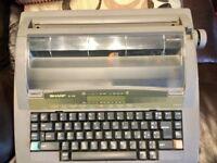 Electric Typewriter-Sharp QL-310