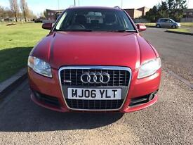 Audi A4 s line 2.0tdi 2006 half leather 6 speed estate