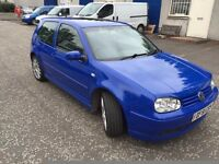 VW GOLF TDI PD 2002 Limited edition Recaro interior £950 no offers