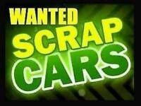 Scrap and unwanted cars or vans wanted