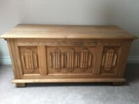 Solid Wooden Chest - Immaculate