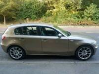 QUICK SALE Gold BMW 120i automatic