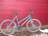 Apollo Fever girls / ladies bike . Frame size 20 inches. Wheel size 26 inches. 15 speed