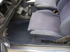 MK1 GOLF RIVAGE, SPORTLINE, CLIPPER, GTI INTERIOR, FRONT AND REAR SEATS