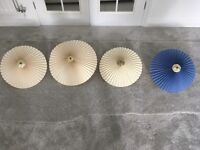 4 lamp shades