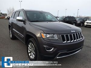 2015 Jeep Grand Cherokee Limited **GPS, TOIT OUVRANT, CAMERA + W